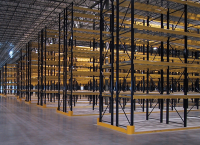 Kansas City, MO Used Pallet Rack Verticals